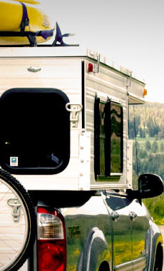 Camping in Montana and Yellowstone National Park